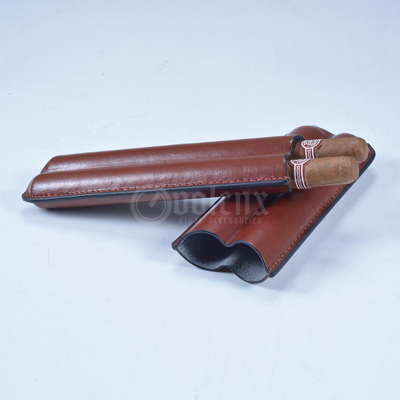 Volenx wholesale leather humidor cigar case