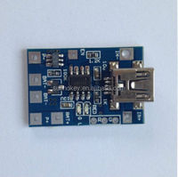 TP4056 1A lithium battery charging module micro USB port