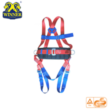 Factory direct sale safety belt with shock absorber lanyard