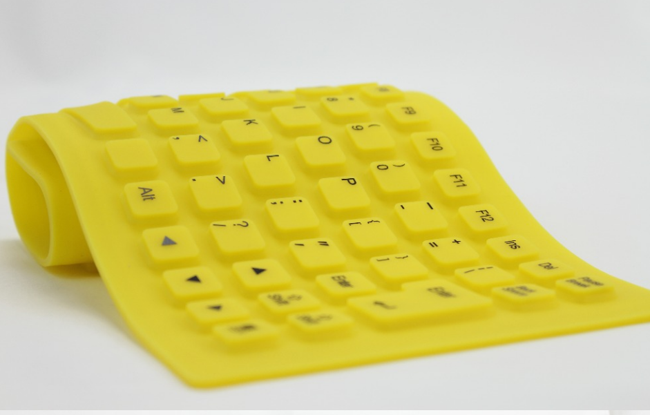 Durable 109keys Waterproof Silicone Keyboard Mat