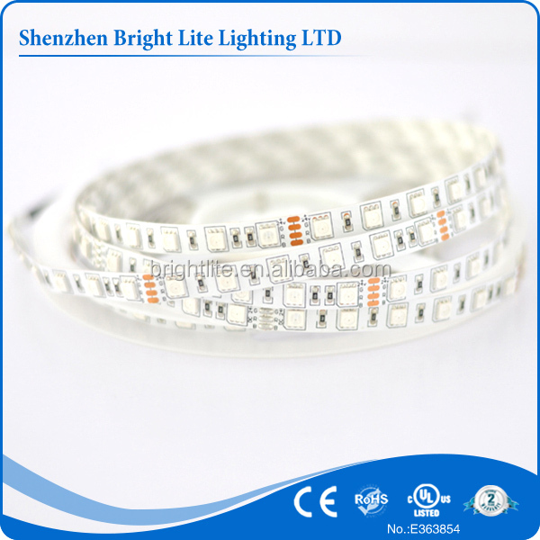 5050 Nonwaterproof IP20 RGB 60led rechargeable led strip light