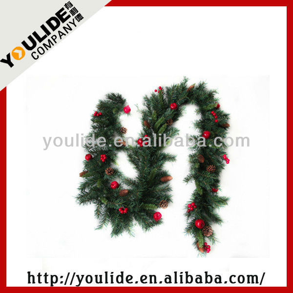 Artifical Outdoor Christmas Decoration Garland