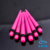 Pink Acrylic Ear Tapers New Popular Color Sterilized Body Jewelry Piercing