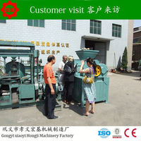 Fast Delivery briquette machine coal rods making machine/coal extruder machine/charcoal briquette machine