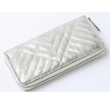 2017 trendy zip long evening clutch fashion handbags wallet for ladies