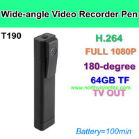 Hot-selling Mini DVR New arrival H.264 Full HD 1080p infrared camera pen Meeting Recording Pen