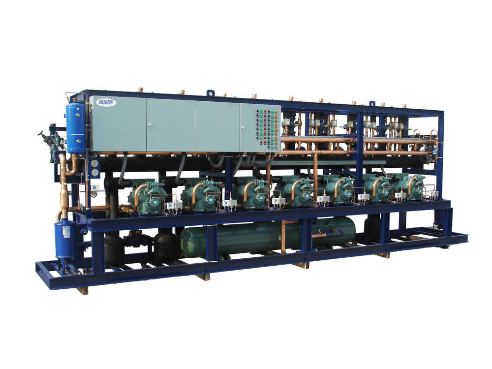 Rack Reciprocating Compressors Paralleled Refrigeration Unit
