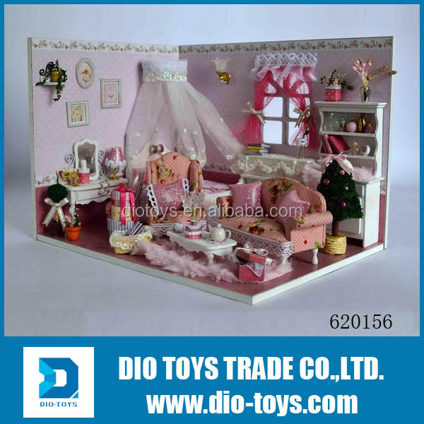 plastic toy baby house plastic toy house with light