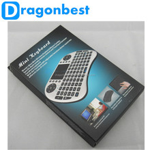 Portable Mini Keyboard Mini I8 Air Mouse Wireless Keyboard With Touchpad For Pc Pad Google Andriod Smart Tv Box