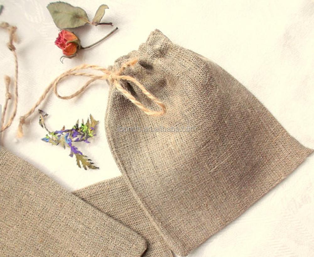 Wholesale Rustic Mini Coffee Burlap Bags For Wedding Favors - Buy ...