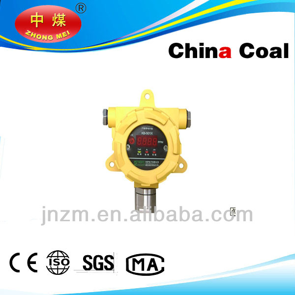 Explosion-proof gas detector for mine and oil & gas industry
