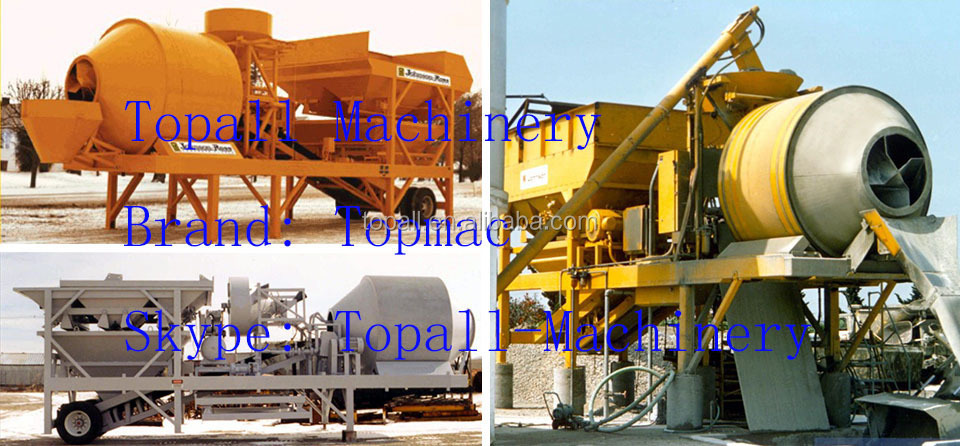portable and mobile concrete plant from famous factory