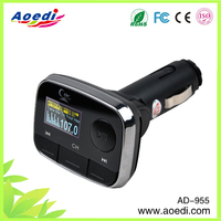 The newest model!usb mp3 adapter car kit,car mp3 fm transmitter for mobil, car mp3 12v/24v fm transmitter of AD-955