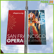 Outdoor wall advertising banner roadside banners advertising