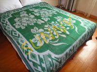 Practical competitive jacquard woven blanket