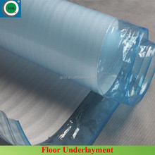 Laminate waterproof LDPE film epe foam sheet carpet flooring underlayment