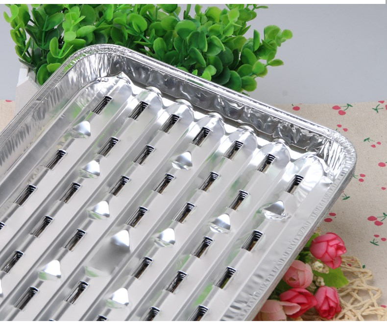 Banquet Cuisine Summer Camp Aluminum Huge Disposable BBQ Grill Pan