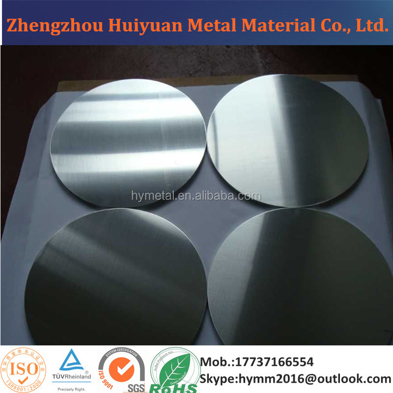 Thickness 1.2mm Aluminum Sheet Circle/Disc 1050 1060 1100 1200