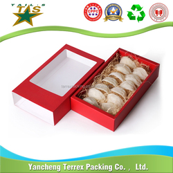 Export products custom paper donut packaging box new technology product in china