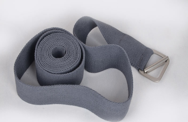 sunframe Yoga Strap very soft yoga tool pilates strap with natural unbleached cotton welcome OEM brand