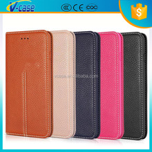 Magnetic Flip Genuine Leather Case for iPhone 5 5S