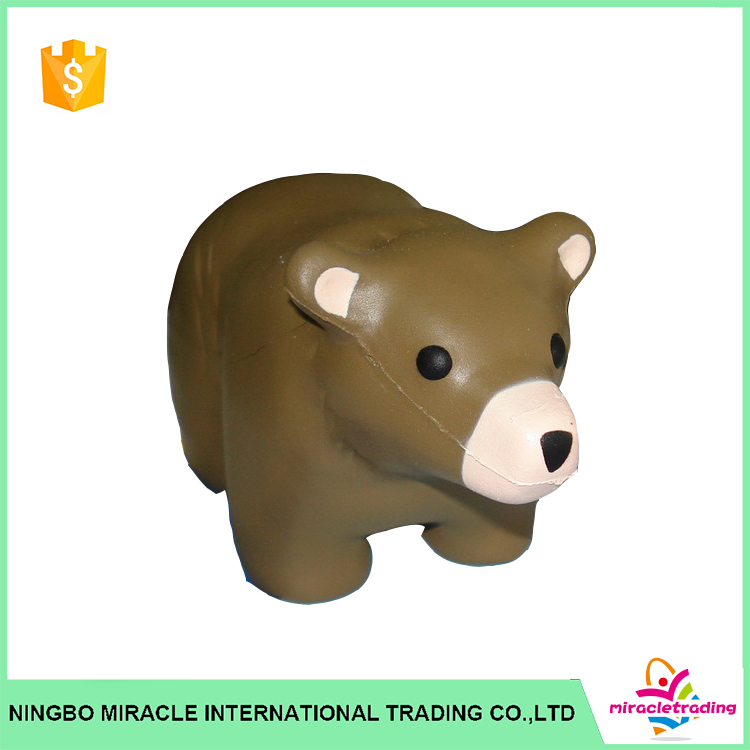 Cute Small Bear Promotional Anti Stress Toys For Baby