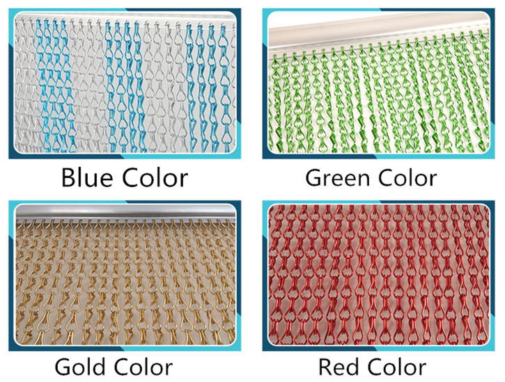Wholesale China Supplier Aluminum Chain Chain Fly Screen