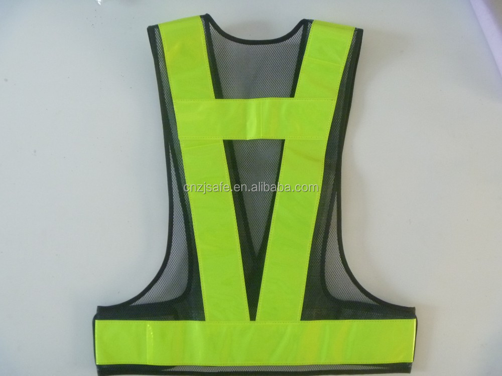 Mesh Safety Vest With PVC Crystal Tape