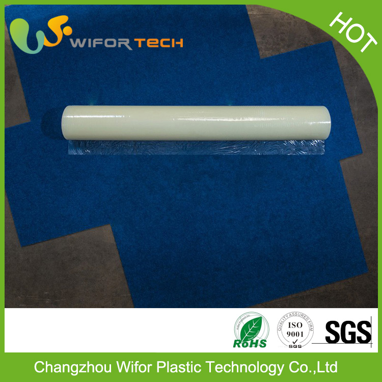 Free Sample Surface Protection Self Adhesive Temporary PE Plastic Carpet Protector For Cars