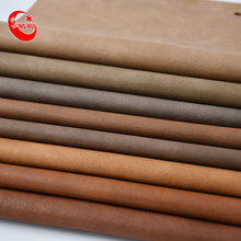Brown Series Faux Suede Fabric Leather