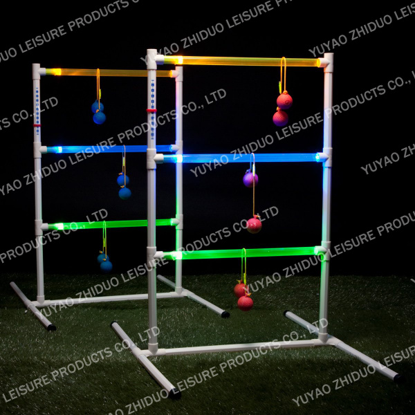 Led light ladder ball game
