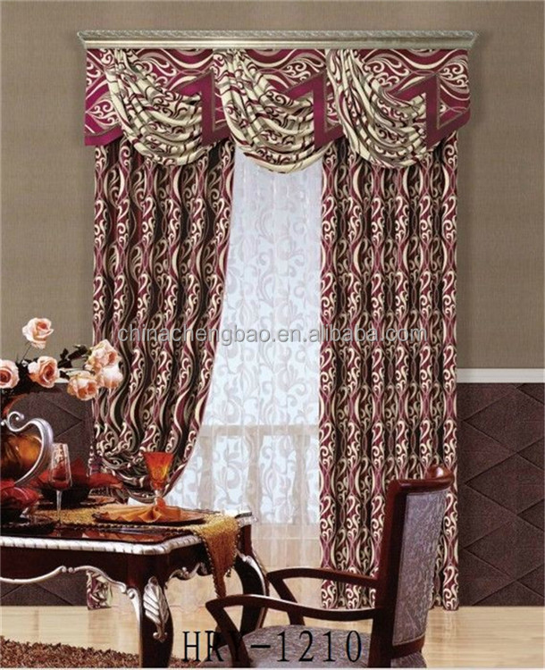 Latest Christmas Curtain Designs for Living Room