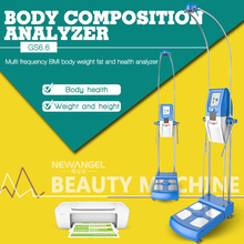 Multi-frequency bioelectrical impedance analysis body composition analyzer