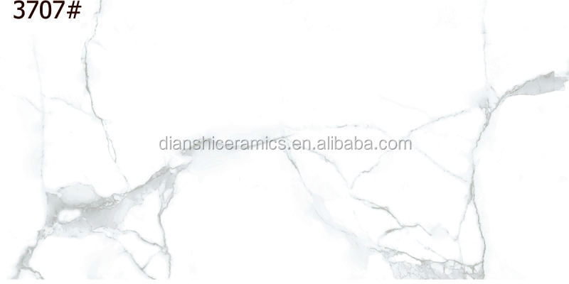 ceramic wall tile marble look, glazed glossy wall tile design