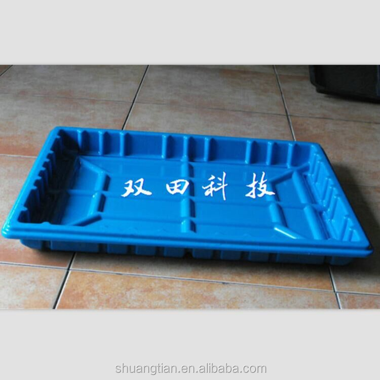 Different-sized Plastic Plant Trays