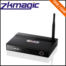 Factory best selling products EM92 Google Android6.0 OS 4K Output Ott Box S912 3+32GB Android mag 254 smart tv box