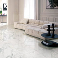 900x900mm Calacatta honed finish super white marble tile