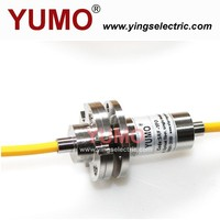 YUMO SRF 1FO Fiber Optic rotary joint slip ring mercury electrical brush Slip rings