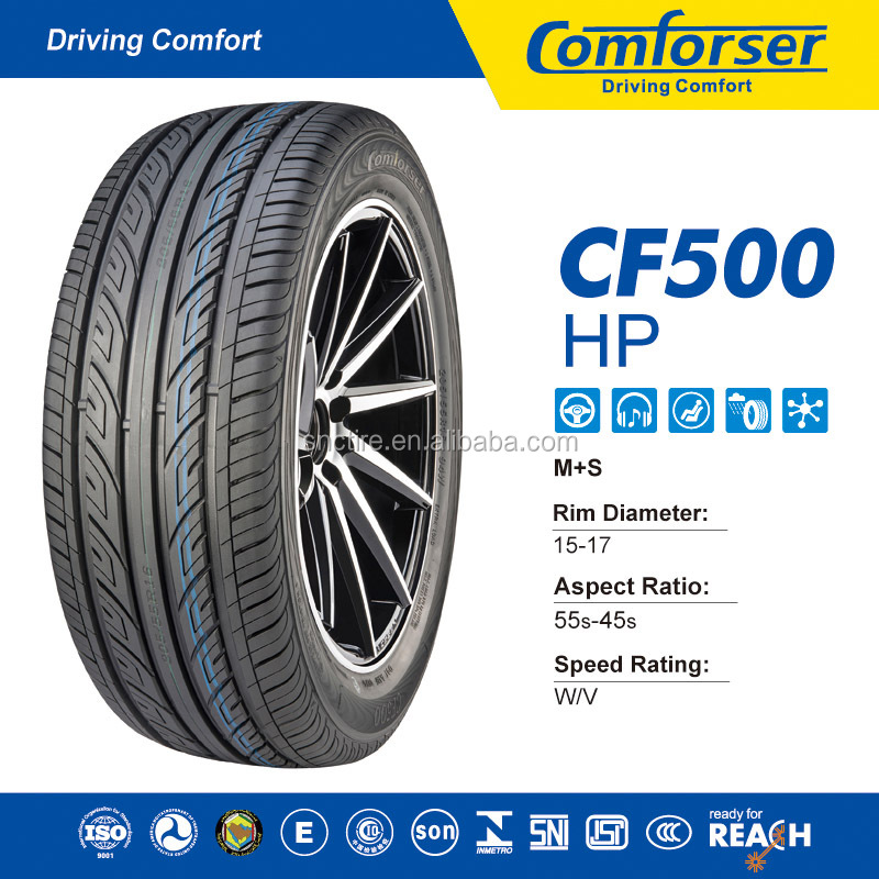 Colored car tires COMFORSER Car tires passenger car tire buy direct from china factory