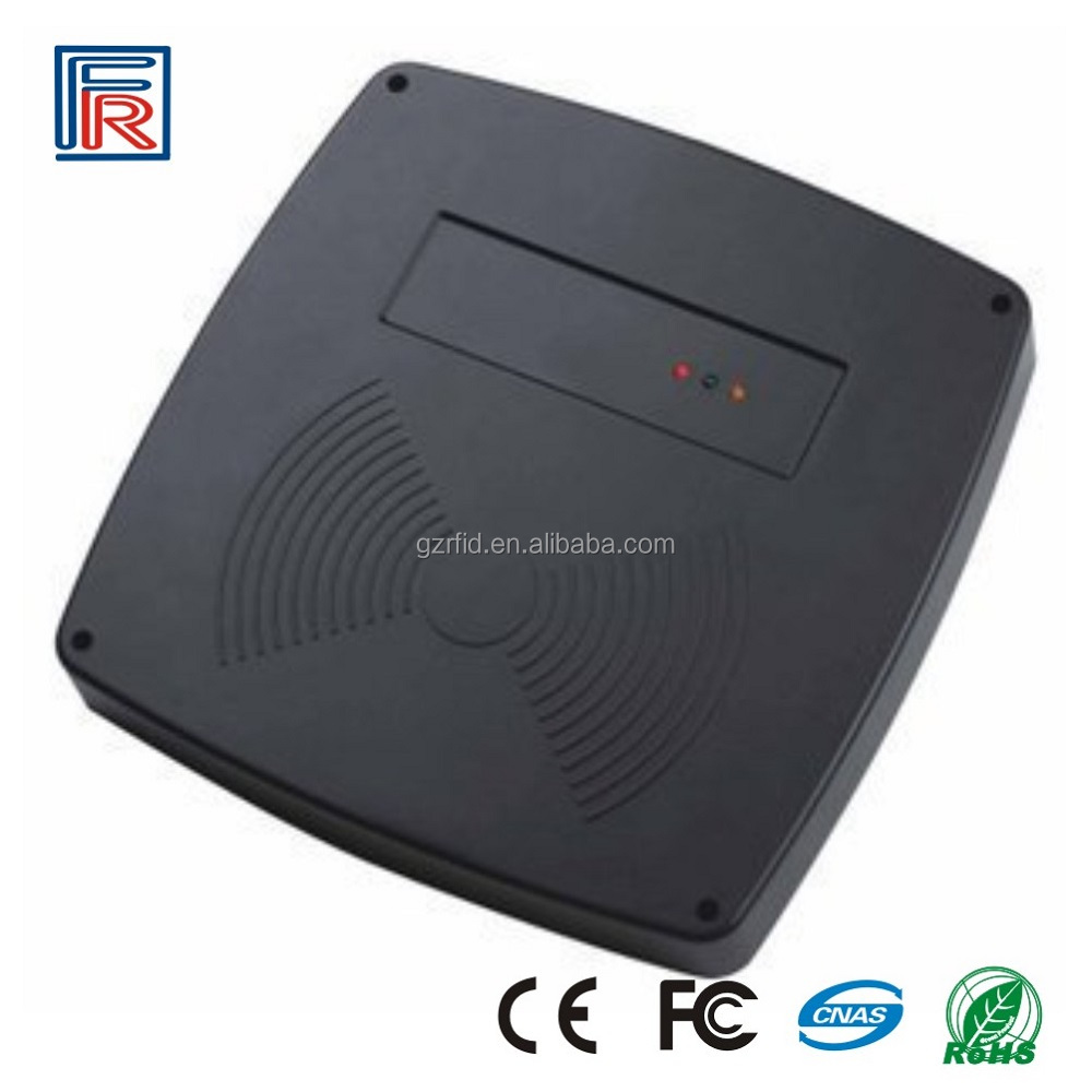 Factory price 125khz em or 13.56mhz ic rfid usb card reader with DEMO