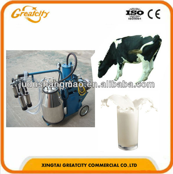 Dairy farm machinery/Machine milking cow
