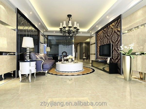 hot sale White porcelain glazed Tile with hotel ,ceramic floor tiles