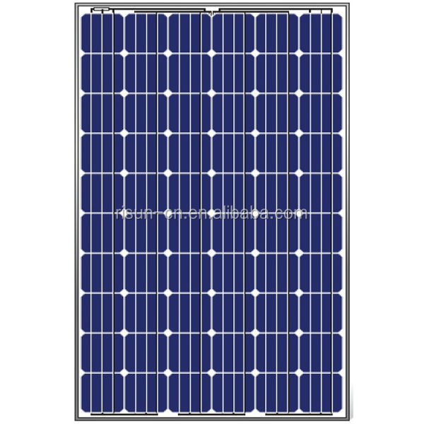High Efficiency Low Price Good Quality TUV Certificated 250W Mono Solar Panel Solar Module