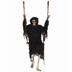 60 inch Halloween swinging skeleton decoration