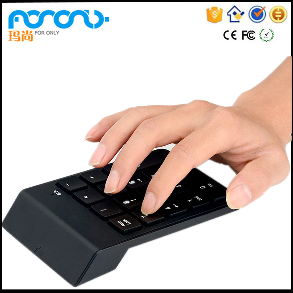 Latest 2.4G Wireless Computer Numeric keypad micro usb keyboard Top selling products in alibaba