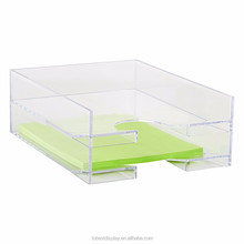 Fashion elegant office essentials acrylic filing cabinet, custom colors File cabinet