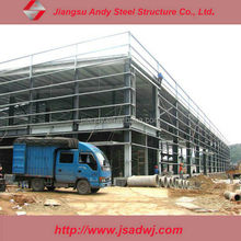 steel space frame for construction building