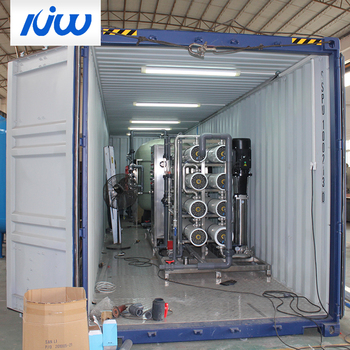 Ro Containerized Industrial Sewage Water Purification System Treatment Plant Equipment Execution Of Works