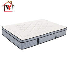 4 Star Hotel 8-Inch Aloe Vera Memory Foam Pocket Spring Mattress
