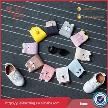 Wholesale baby socks with rubber soles cartoon cute socks